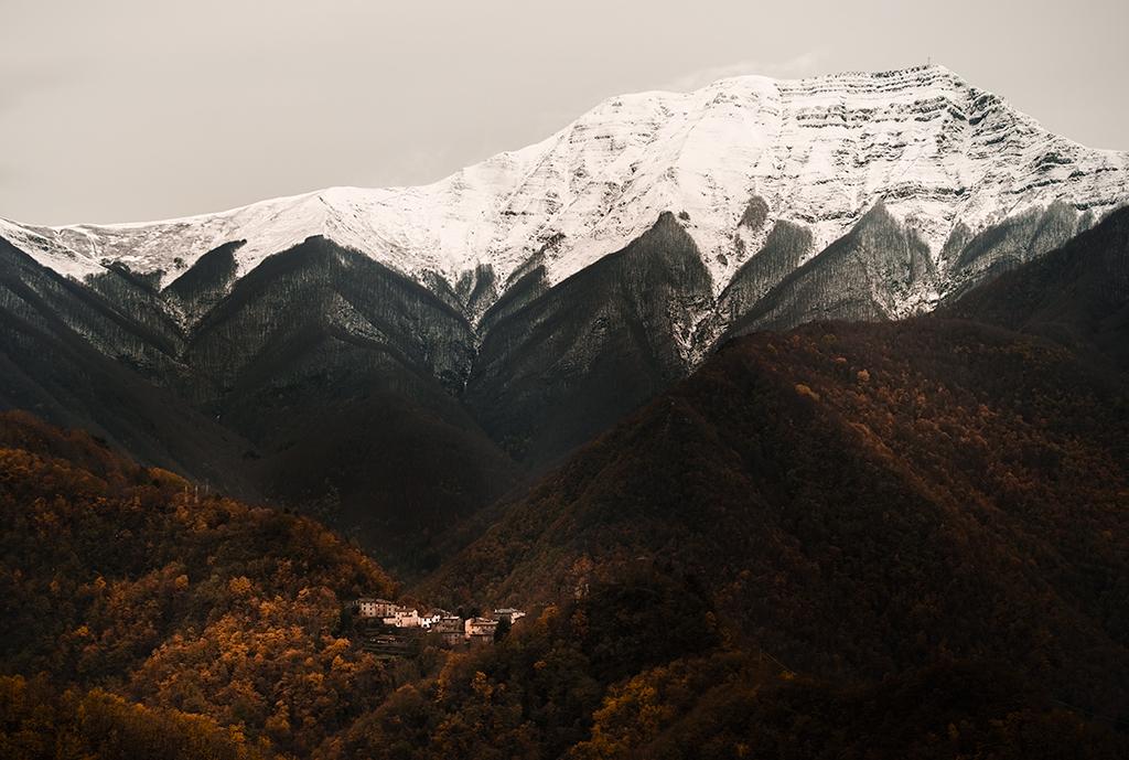 Prima neve in Appennino