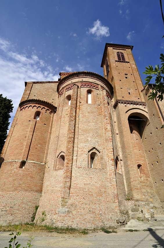 L'abside vista dall'esterno