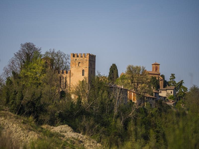 Itinerario 1 - Salita al castello e all'Abbazia