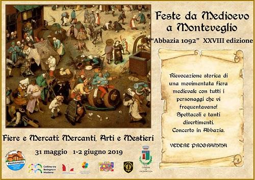Feste da Medioevo Abbazia 1092
